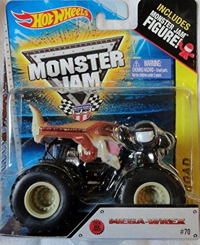 Qiyun Hot Wheels Monster Jam Mega Wrex Figure 1 64 Die Cast New Truck Off Road