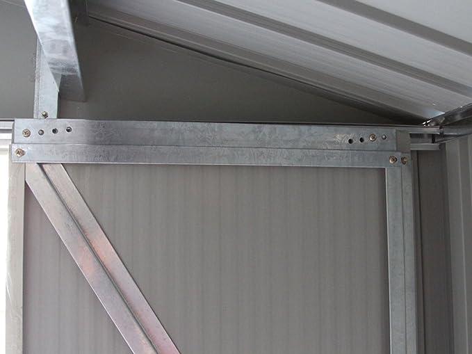 Habitat Et Jardin 1571260031 - caseta de metal para jardín \\: Amazon.es: Jardín