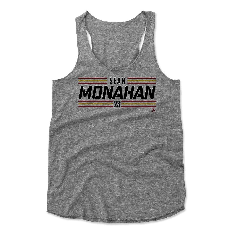 Sean Monahan Striped Font K Calgary Women's Tank Top