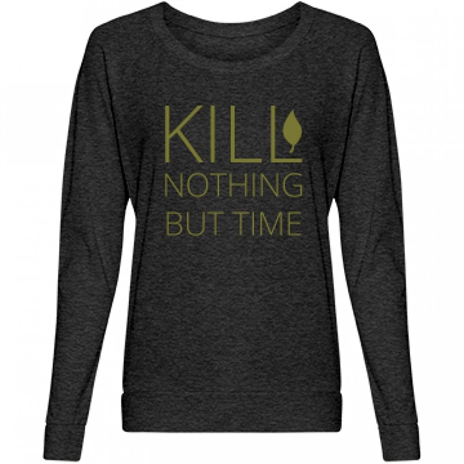Kill Nothing Love Earth: Misses Alternative Apparel Slouchy Pullover