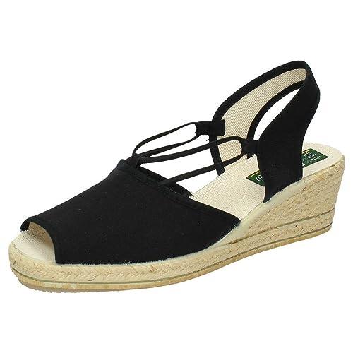 ISASA 0882/011 Zapatillas Alpargata Mujer Alpargatas: Amazon.es: Zapatos y complementos