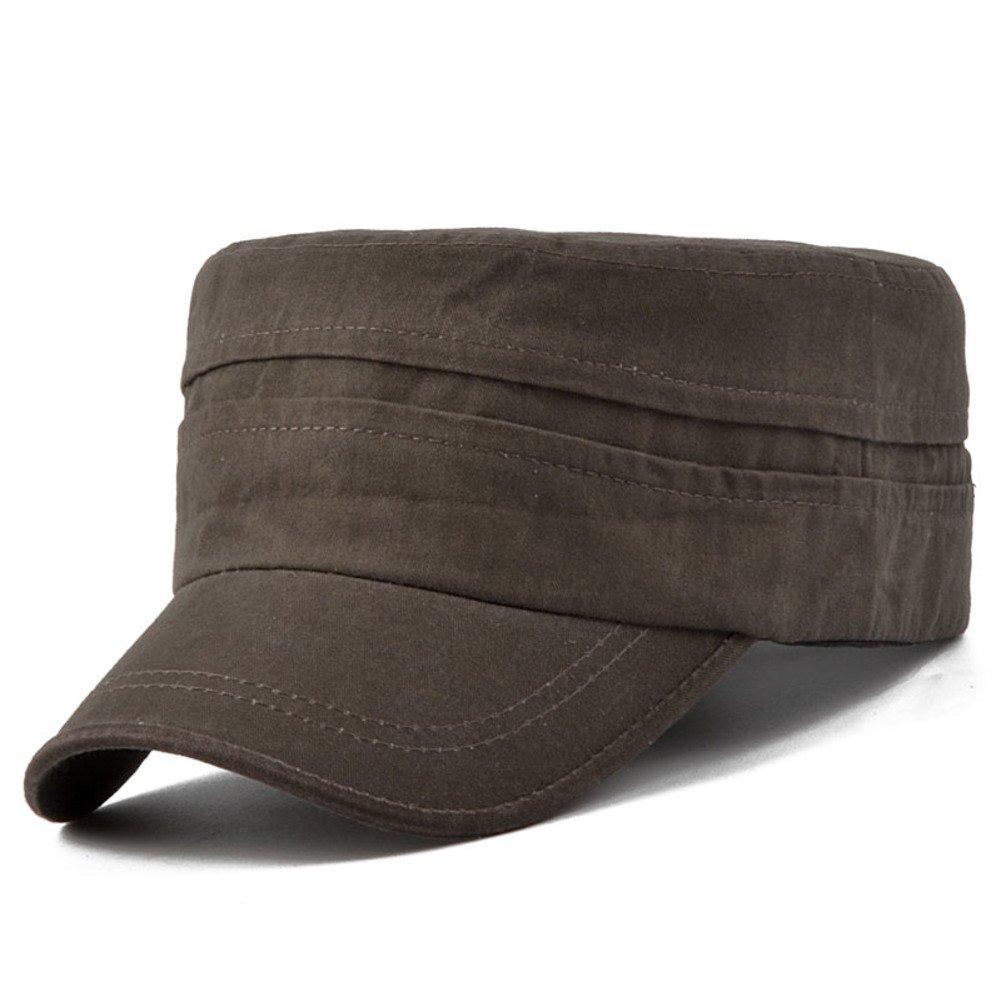 Mens hat Flat caps Sun Hat Outdoor Cap Sun Hat Visor Cap Fashion Cap