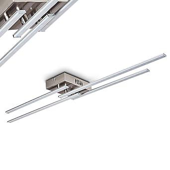 Charmant LED Deckenleuchte Casale 4 Flammig Mit Länglichen Lichtleisten U2013  Extravagante Zimmerlampe Für Wohnzimmer U2013 Schlafzimmer