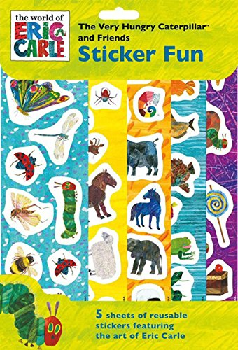 Hungry Caterpillar The Very Reusable Sticker Fun 5 Sheets