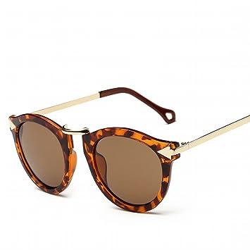 YL Gafas de Sol Al Aire Libre Gafas de Sol Femenino Polarizado Espejo Retro Hd Gafas