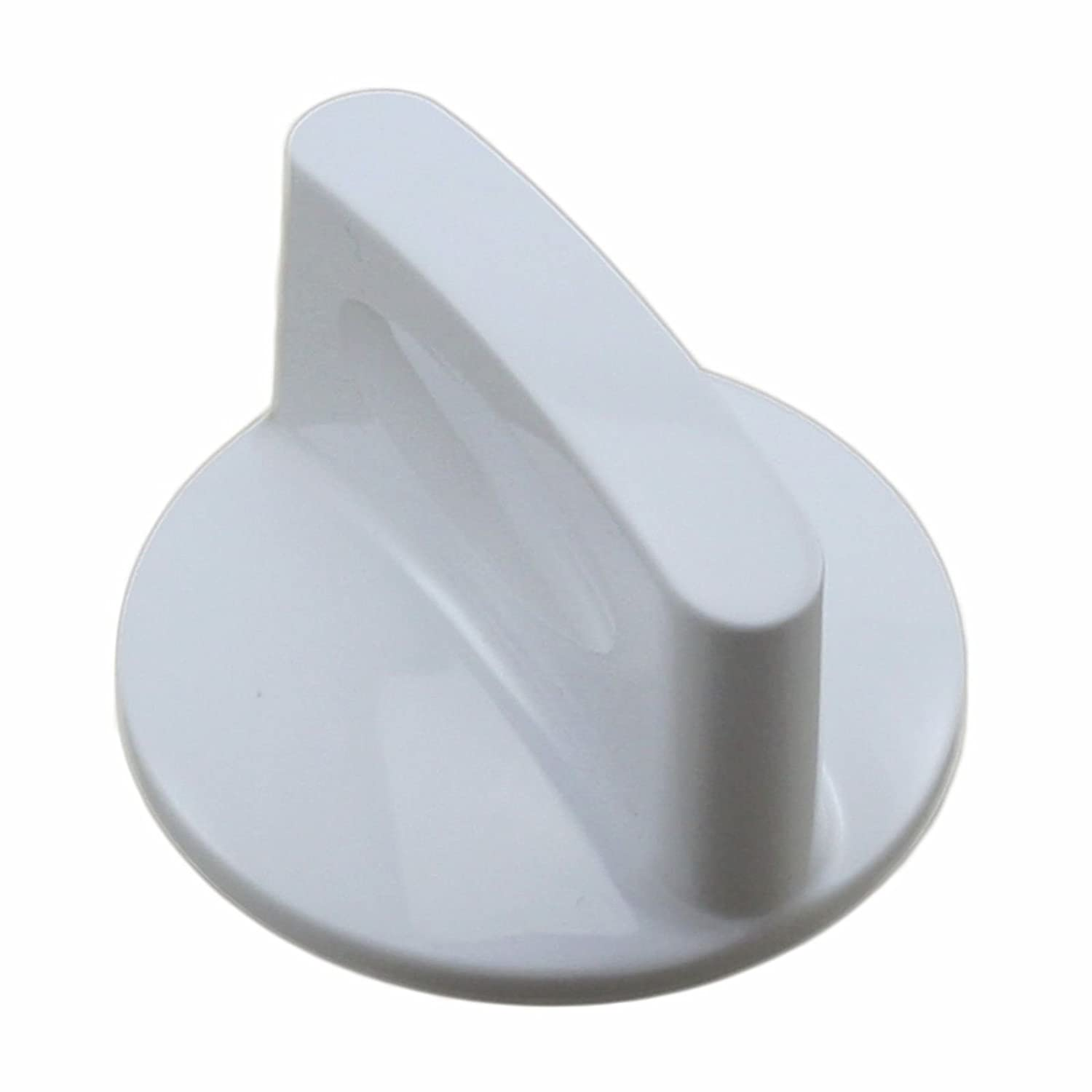 NEBOO WH1X2754 For GE Hotpoint Washer Timer Knob and Clip White PS271124