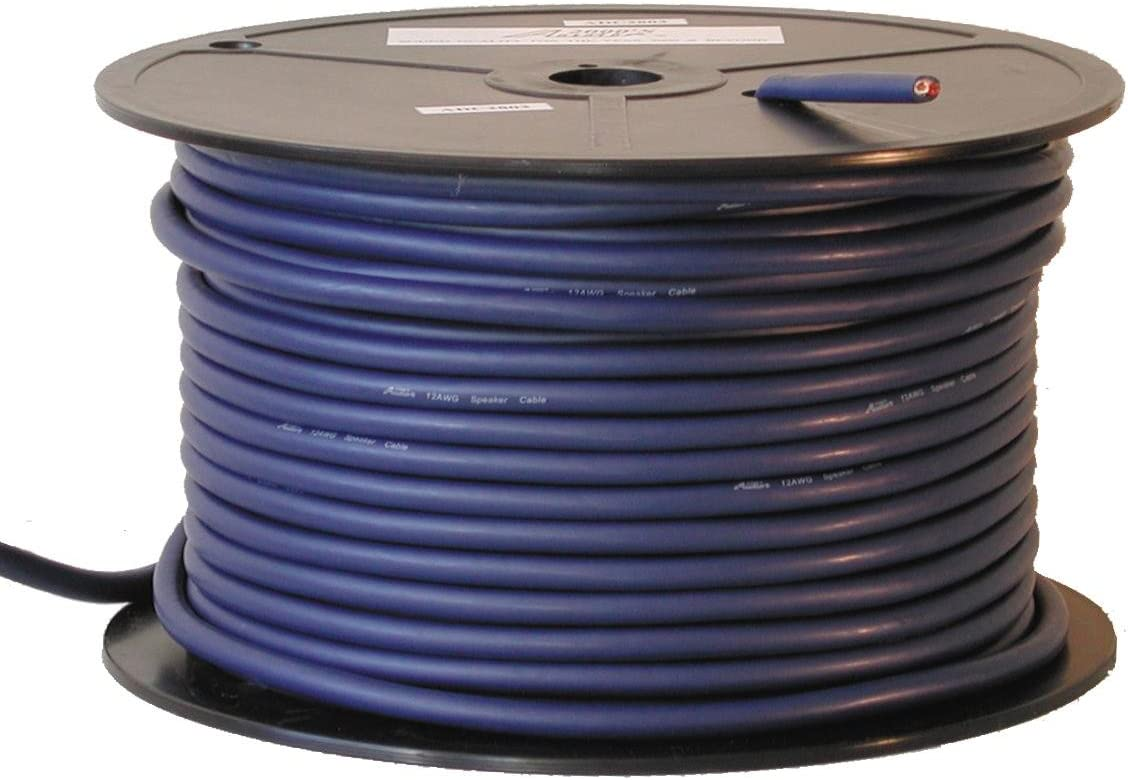 4 Conductors 330 ft Audio2000s Speaker Cables 14AWG