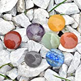 Set of 7 Disc Chakra Set - Chakra Stones - Reiki