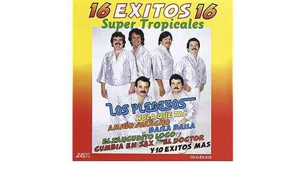 16 Exitos Super Tropicales by Los Plebeyos on Amazon Music ...