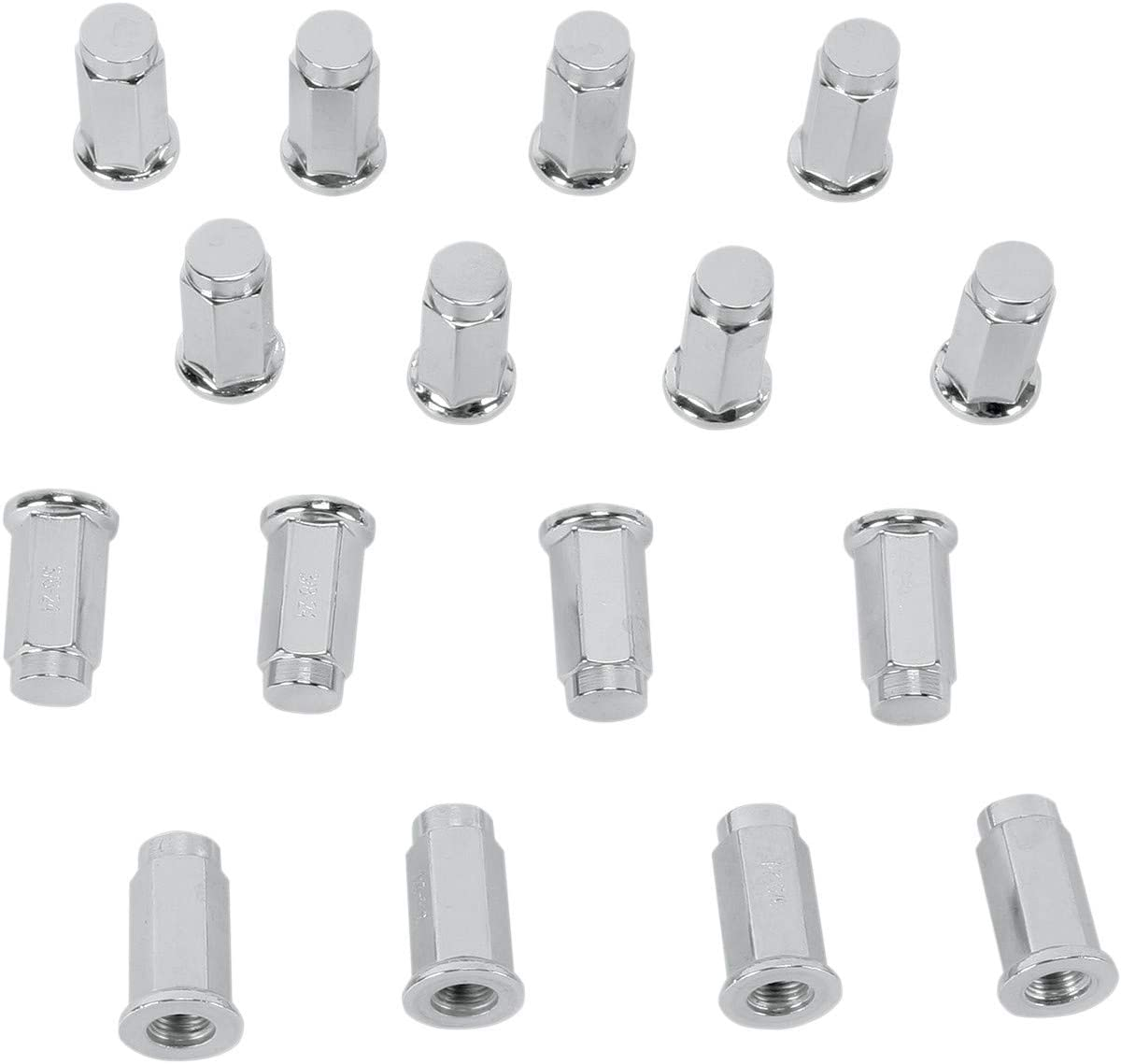 4 pack Polaris RANGER 800 XP LE 2012 Fits ITP Flat Base Chrome Lug Nut 3//8 with 14mm Head