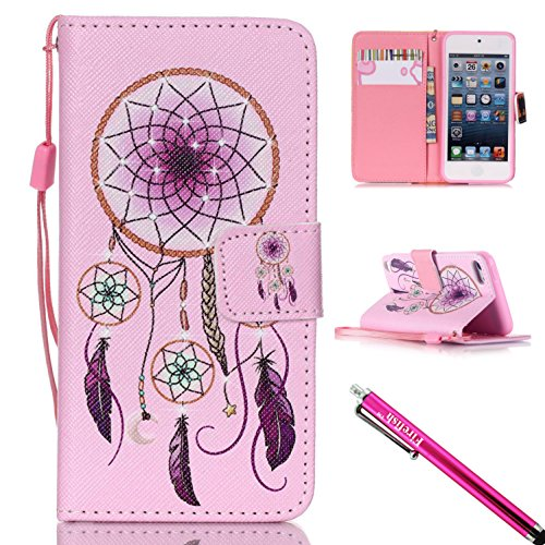 ipod-touch-5-touch-6-case-firefish-kickstand-card-cash-slots-lightweight-premium-pu-leather-wallet-f