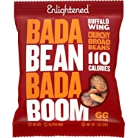 Bada Bean Bada Boom - Plant-Based Protein, Gluten Free, Vegan, Crunchy Roasted Broad (Fava) Bean Snacks, 100 Calories…