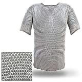 Haubergeon Chain Mail Replica Armor Long Shirt