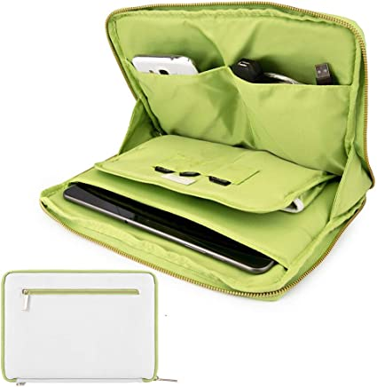 10.1 Inch Tablet Sleeve Laptop Organizer Fit Lenovo Tab P10, M10, E10, 10, Yoga Tab 3 Pro, Chuwi Hi10 Air, Hipad, Hi9 Pro, Hi9 Air, Hi9 Plus, Acer ...