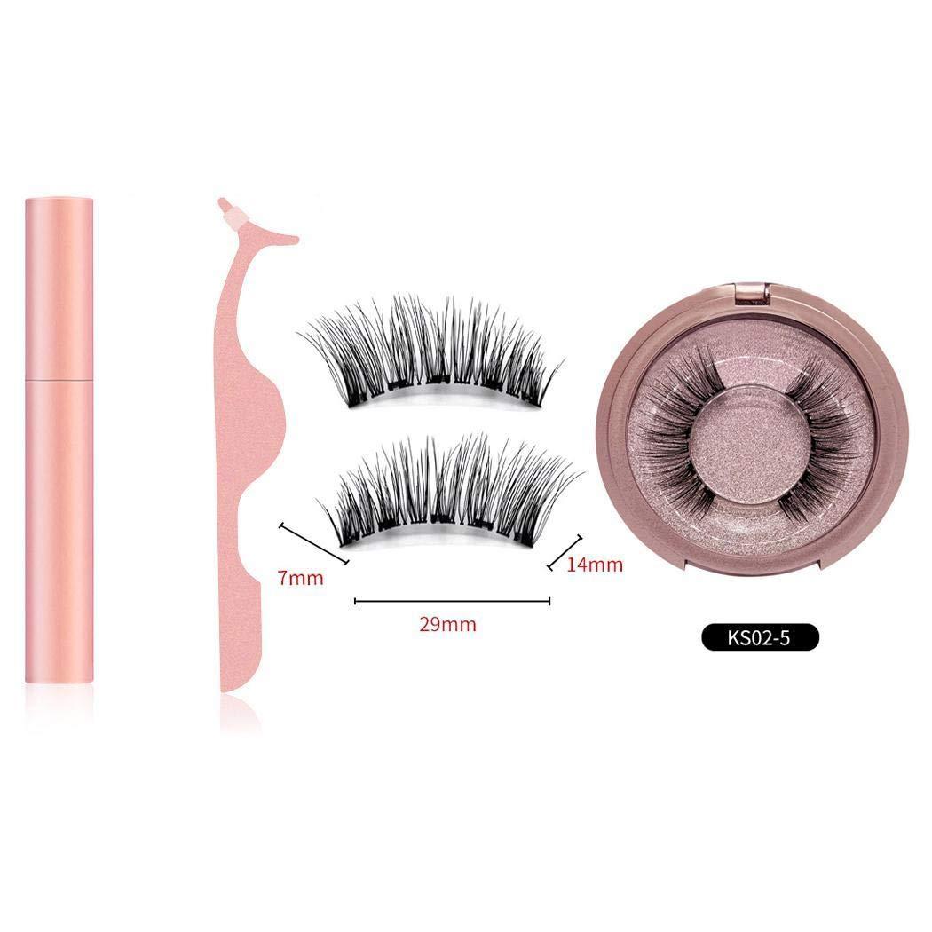 LEANO New Hot Sell Magnetic Liquid Eyeliner False Eyelashes Tweezer Set Eye Makeup False Lashes
