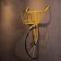 QBDS Decorazione Vintage da Parete Vintage in Ferro battuto per Biciclette Decorazione da Bar Ristorante Ciondolo Decorativo