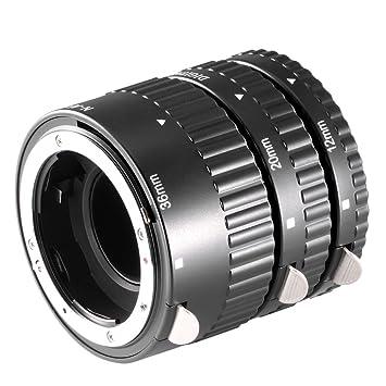 Neewer 10037281 - Tubo de extensión para Macro de cámaras réflex ...