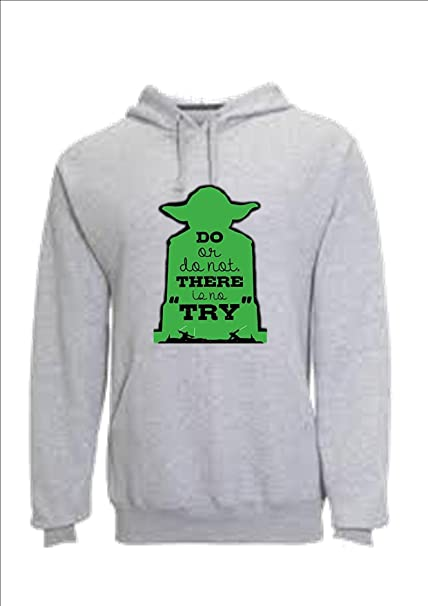 Sudadera Unisex. Star Wars. Maestro Yoda. DO OR DO Not. There IS