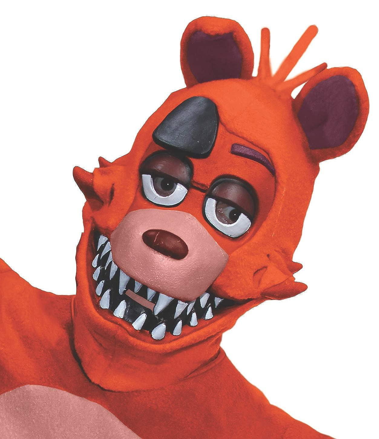 Amazon Com Rubie S Men S Five Nights At Freddy S Foxy 3 4 Mask As