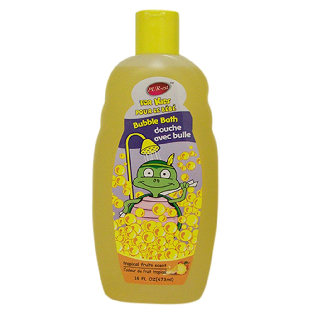 Purest Kids Bubble Bath With Tropical Fruits Scent(473ml) 309468