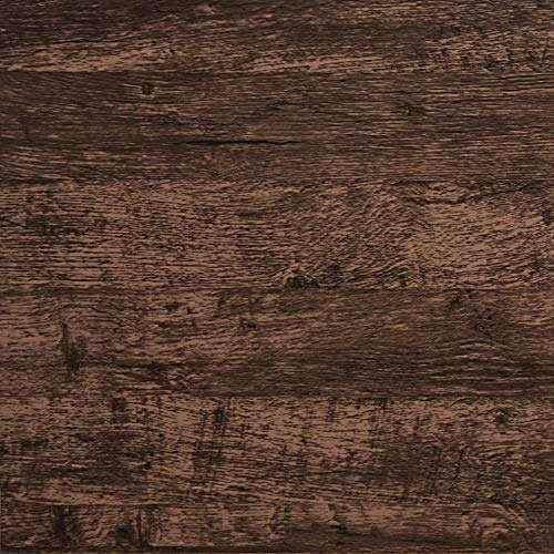 "Wood Wallpaper Brown Wood Contact Paper Wood Plank Wood Peel And Stick Wallpaper Removable Rustic Wood Grain Self Adhesive Vintage Distressed Wood Grain Wood Texture Film Cabinet Vinyl Roll 17.7""x78.7"
