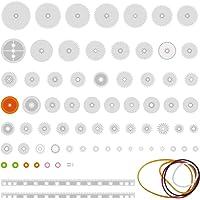 Quimat 75 Tipos de Engranaje Plástico para Bricolaje