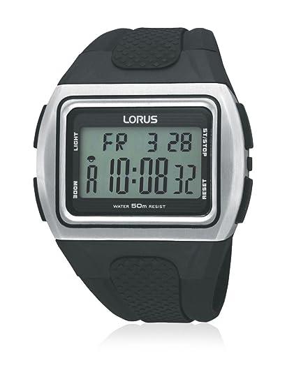 Lorus Reloj analogico para Hombre de Cuarzo con Correa en Caucho R2311DX9: Lorus: Amazon.es: Relojes