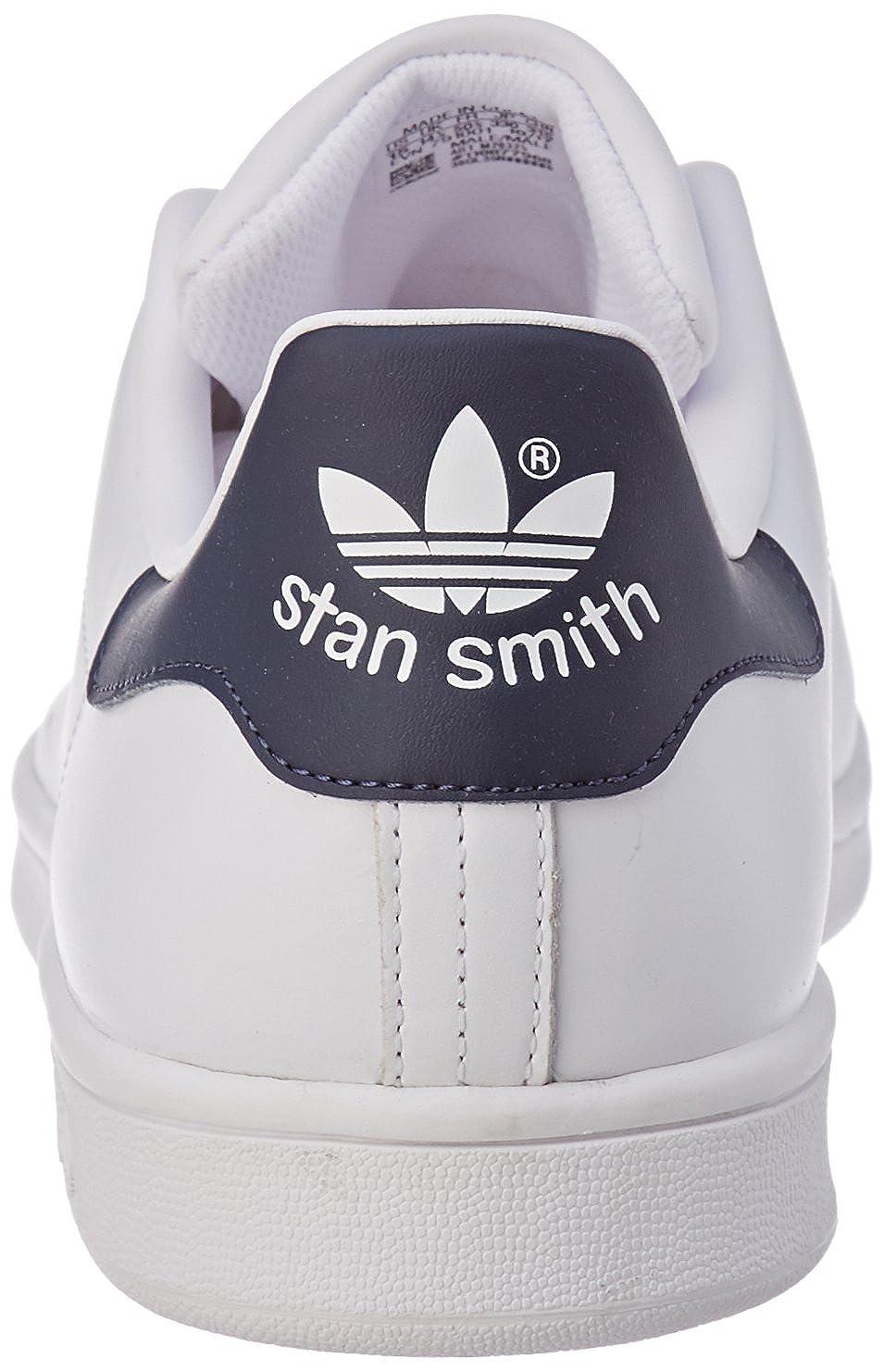 adidas Herren Stan Smith Fitnessschuhe Weiß (Blabas/Azuosc 000)