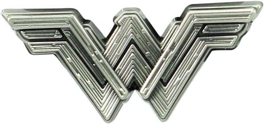 Classic Wonder Woman Logo Pin cap lapel Couleur Or Cosplay Collectible US Vendeur