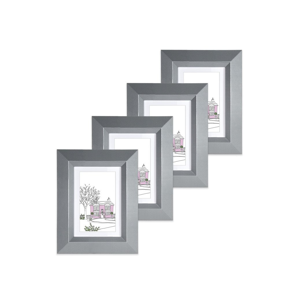 Edgewood 4-Piece Photo Frames.