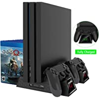 Amazon.com deals on OIVO Regular PS4/ Slim/ Pro Cooler Vertical Cooling Stand