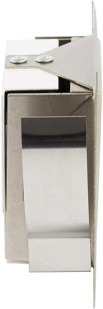 LEDKIA LIGHTING Baliza LED Larry Acabado Acero 1.5W Blanco Frío 6000K: Amazon.es: Iluminación