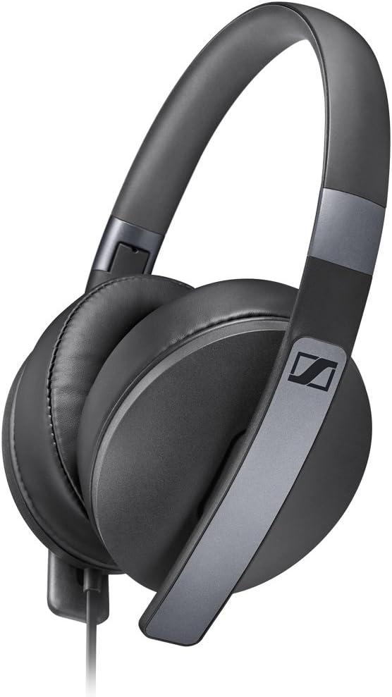 Sennheiser HD 4.20s - Microauriculares de Diadema Cerrados, Compatible con Smartphones y Tablets, Color Negro, Around-Ear