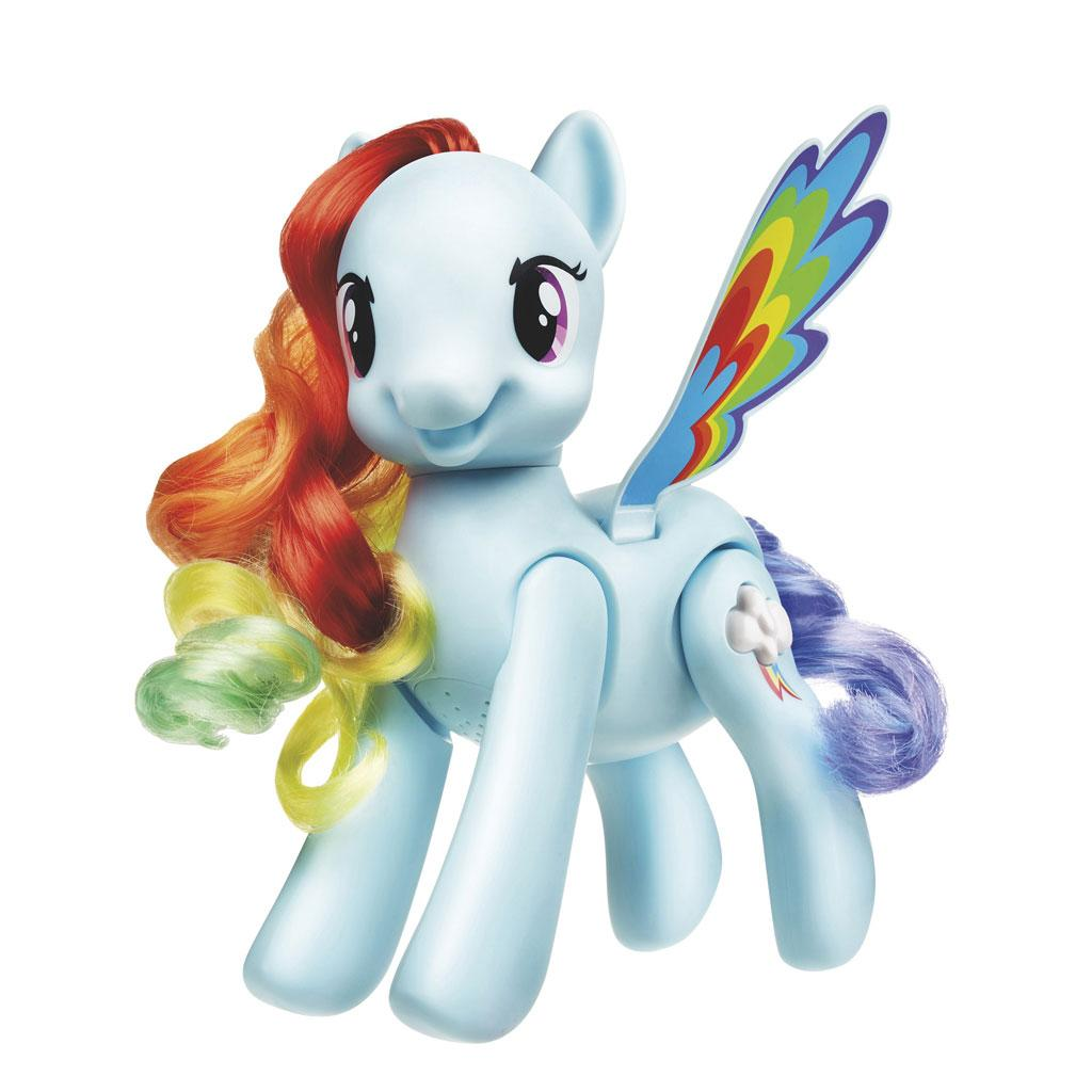 Amazon.com: My Little Pony Flip and Whirl Rainbow Dash ...
