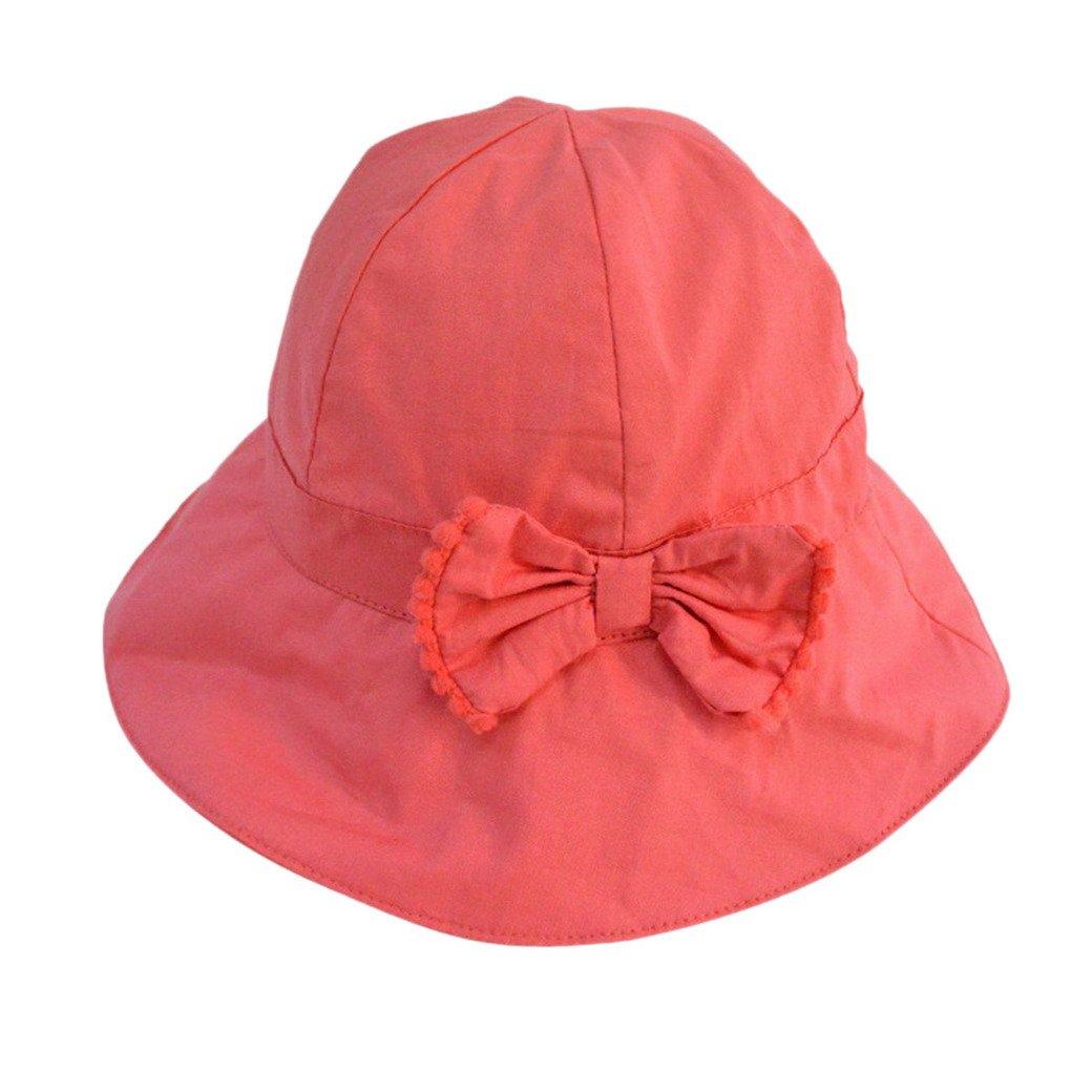 Tangda búho gorro sombrero de bebé de algodón bob Hat para Niño Niña Sol  Gorra Naranja 8164fb5253e