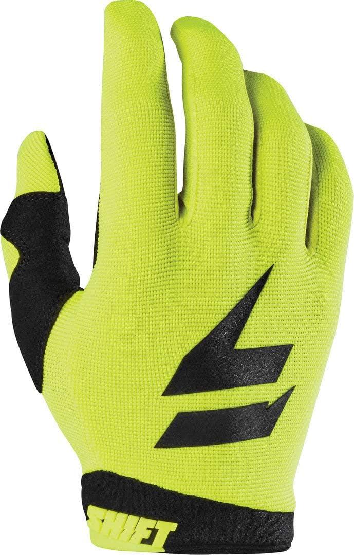 SHIFT 2021 White Label Gloves Trac RED Medium