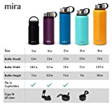 MIRA 22 Oz Stainless Steel Vacuum Insulated Wide