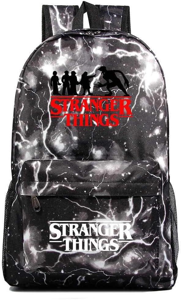 Stranger Things School Backpack, Lightweight Laptop Backpack School Bookbag Computer Backpack for Men/Women
