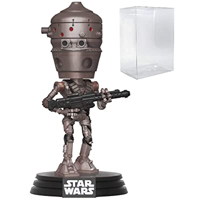 Star Wars: The Mandalorian - IG-11 Pop! Vinyl Figure (Includes Compatible Pop Box Protector Case): Toys & Games