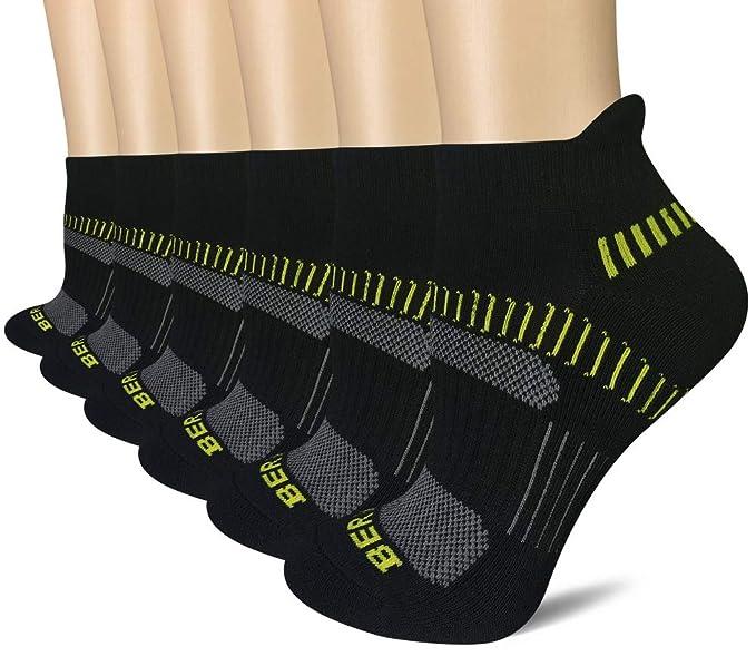 79e1bddbde205 BERING Women's Performance Athletic Running Socks (6 Pair Pack)