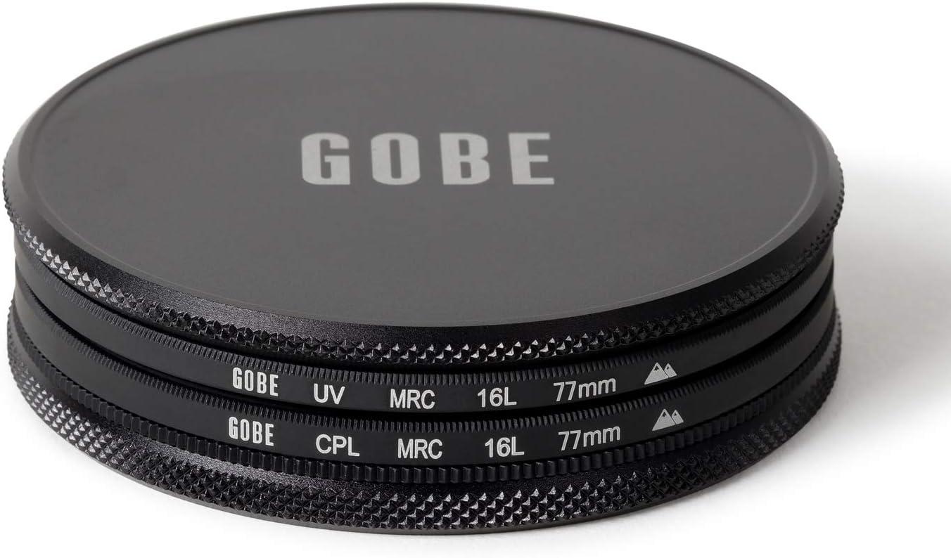 CPL 2Peak Circulaire polarisant Gobe Kit de filtres pour Objectif 37 mm : UV