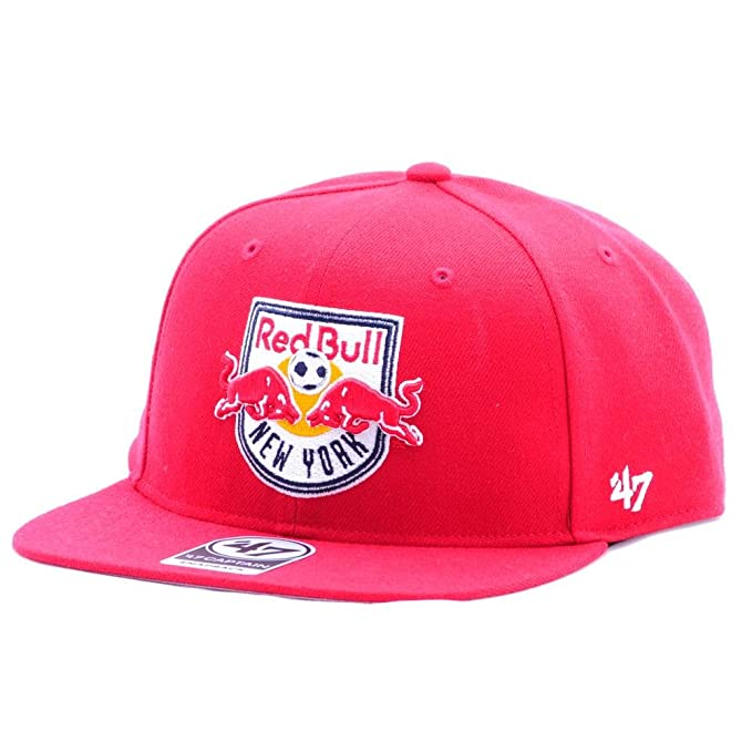 Gorra 47 Brand – Mls New York Red Bulls Captain Snapback rojo talla: OSFA (