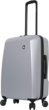 Black Mia Toro Italy Torino Hard Side 28 Inch Spinner Luggage