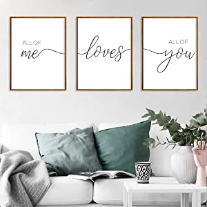 """Unframed 3Set Love Wall Art Minimalist Painting, Me Love You Minimalist Black and White Canvas Line Art Print Poster, Minimal Love Wall Art Sketch Art Line Paintings Home Décor for Bedroom (8"""" x 10"""")"""