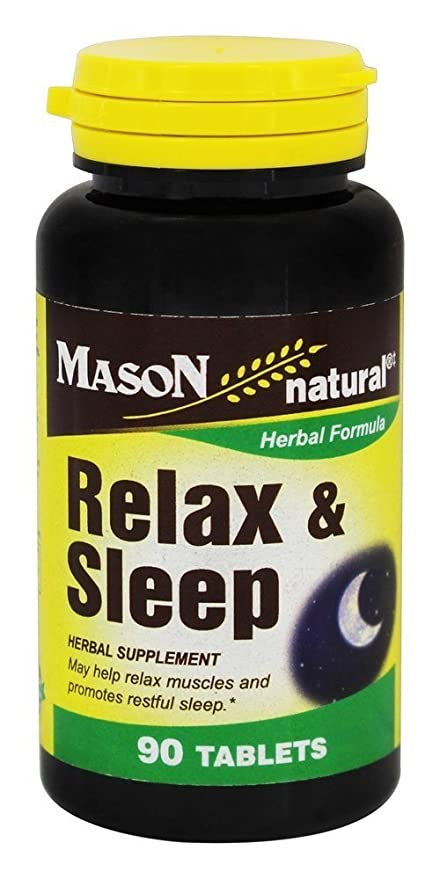 Relax Sleep, 90 Tabletas - Vitaminas Mason