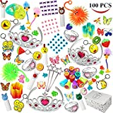 Joyin Toy 100 Pc Party Favor Toy&Accessory Assortment for Girls, Kids Party ...