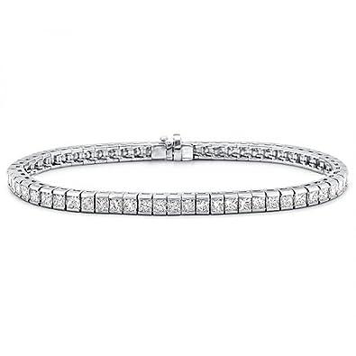 Amazon 5 00 ct La s Princess Cut Diamond Tennis Bracelet In