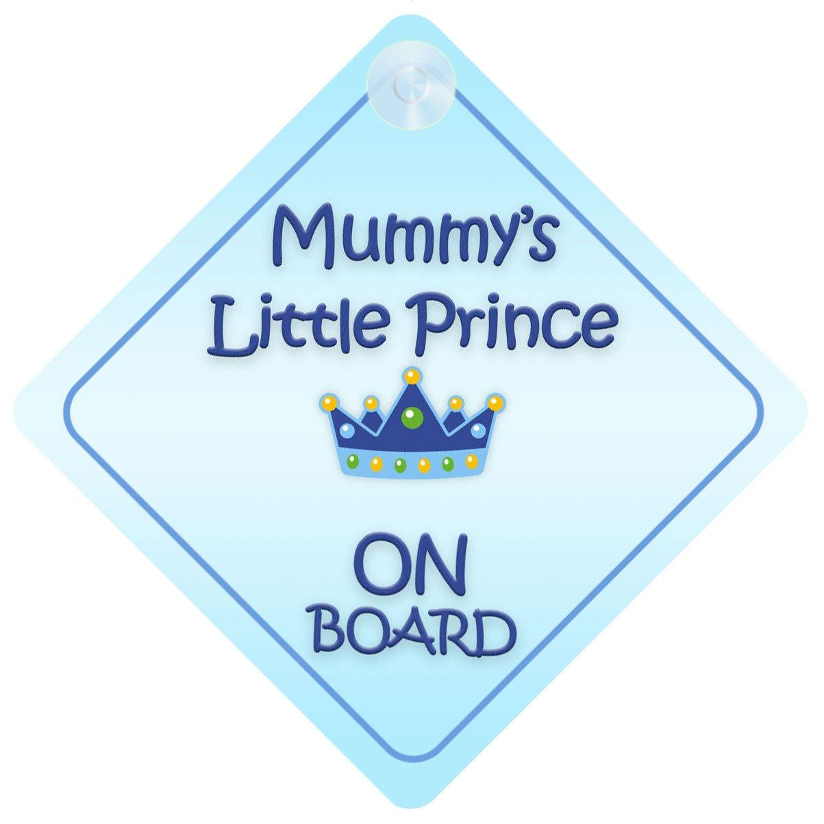 Amazon.com: Mummy Little Prince On Board coche Señal nuevo ...