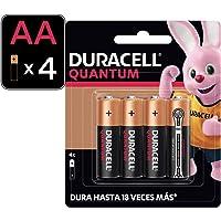 Duracell Pilas Duracell Quantum Aa 4 Pza - Alto Desempeño Alcalina, color, AA, pack of/paquete de 14