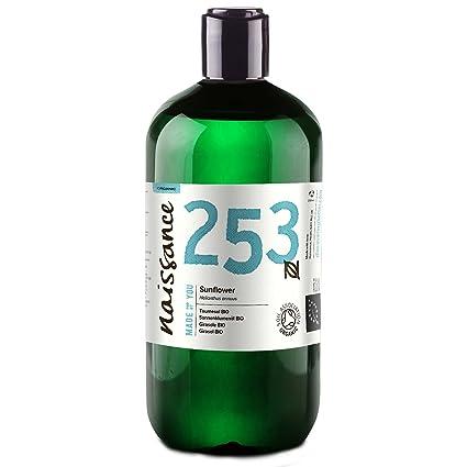 Naissance Aceite Vegetal de Girasol BIO 500ml - 100% puro ...